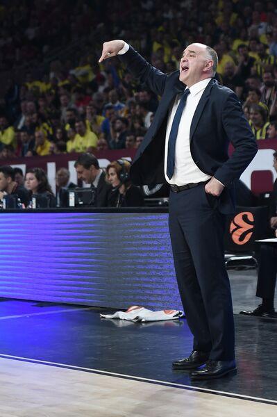 Главный тренер мадридского Реала Пабло Ласо