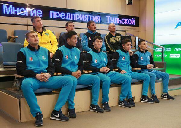 Боксеры команды Astana Arlans