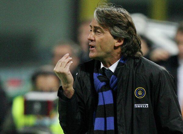 Главный тренер петербургского Зенита Роберто Манчини