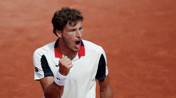 Испанский теннисист Пабло Карреньо-Буста
