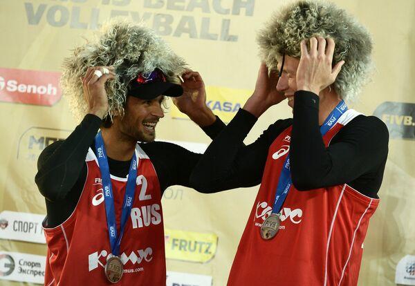 Вячеслав Красильников и Никита Лямин (слева направо)