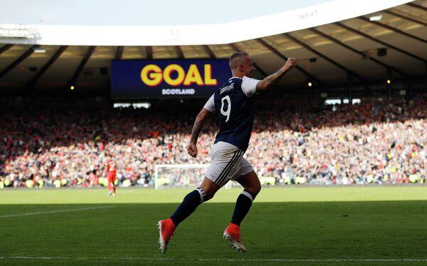 Нападающий сборной Шотландии Ли Гриффитс