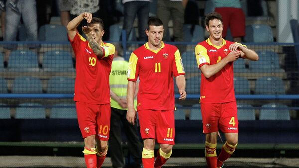 Футболисты сборной Черногории