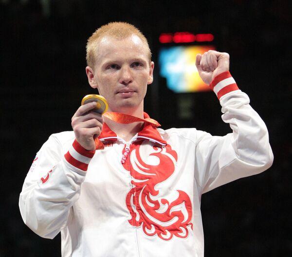 Двукратный олимпийский чемпион по боксу Алексей Тищенко