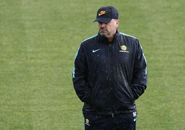 Главный тренер сборной Австралии Ангелос Постекоглу