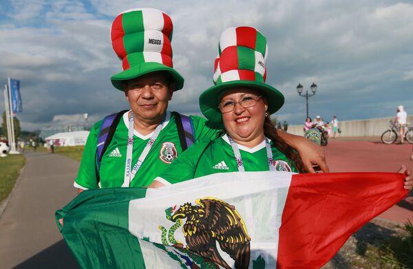 Мексиканские болельщики