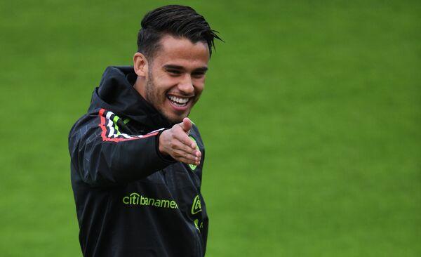 Защитник сборной Мексики Диего Рейес