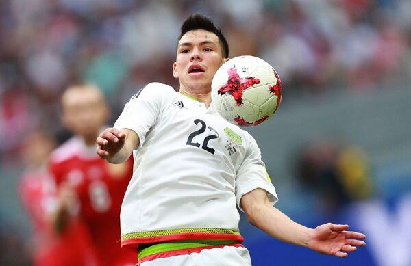 Нападающий сборной России по футболу Ирвинг Лосано