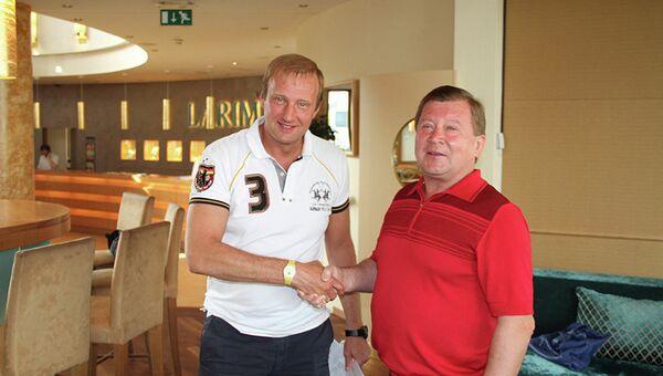 Игорь Резвухин (слева) и Геннадий Шилов