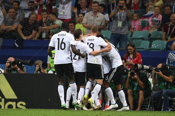 Футболисты сборной Германии