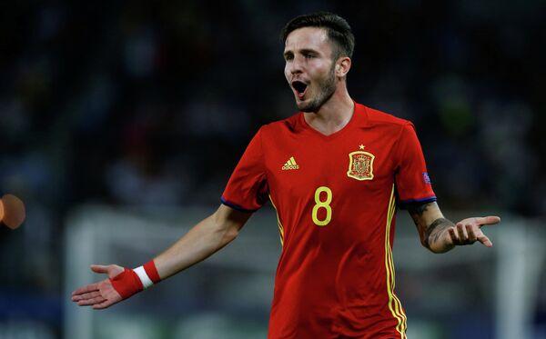Полузащитник мадридского Атлетико и молодежной сборной Испании Сауль Ньигес