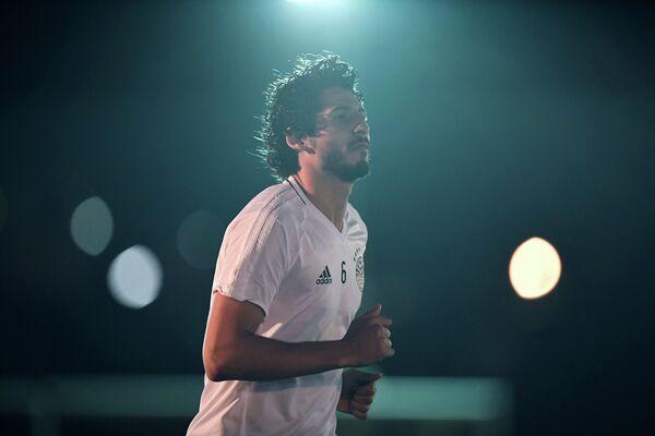 Защитник сборной Египта по футболу Ахмед Хегази