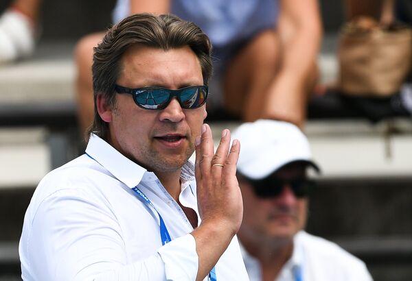 Исполняющий обязанности главного тренера мужской сборной России по водному поло Сергей Евстигнеев