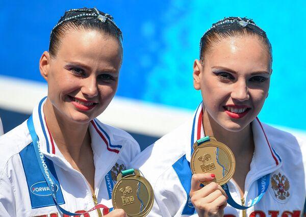 Александра Пацкевич и Светлана Колесниченко