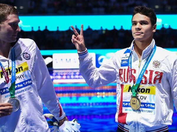 Райан Мёрфи и Евгений Рылов (слева направо)