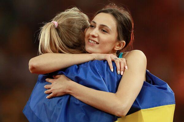 Юлия Левченко (слева) и Мария Ласицкене