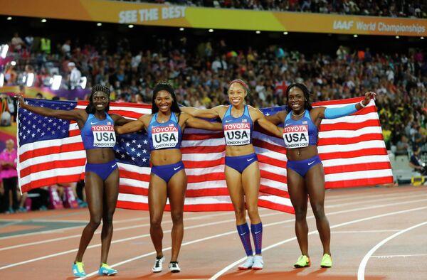Женская сборная США по лёгкой атлетике