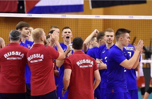 Волейболисты сборной России (игроки до 23 лет)