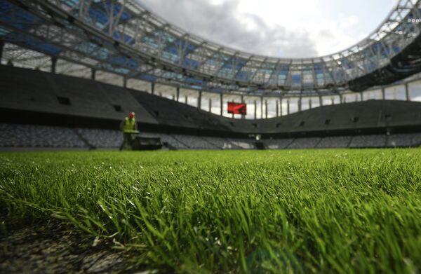 Строительство стадиона Нижний Новгород