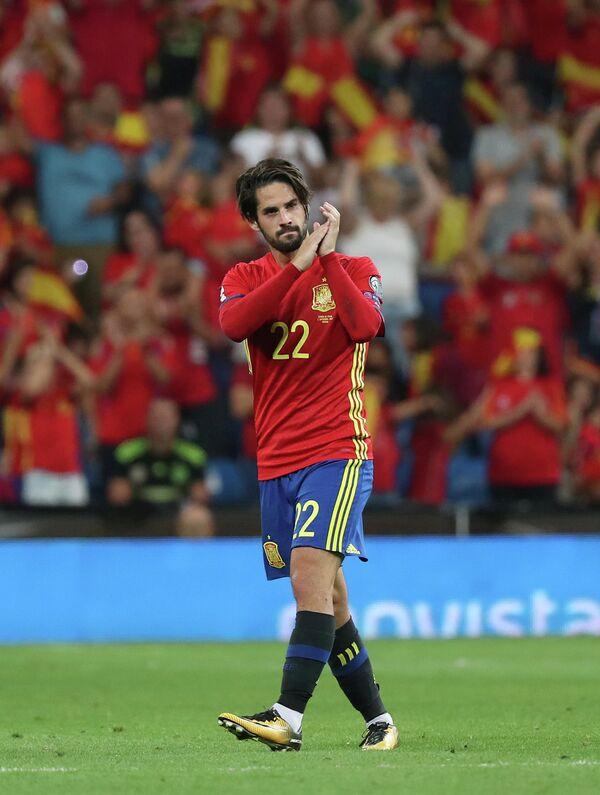 Полузащитник сборной Испании Иско