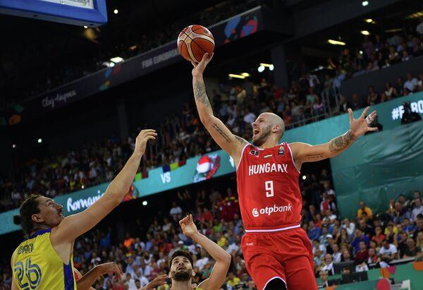 Защитник сборной Венгрии по баскетболу Давид Войвода
