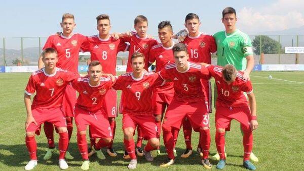 Футболисты юношеской сборной России (игроки 2001 года рождения)