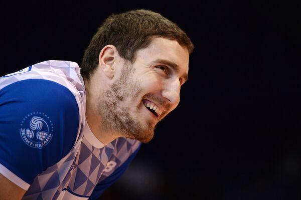 Российский волейболист Максим Михайлов