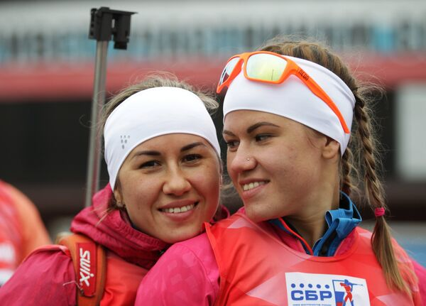 Дарья Виролайнен и Кристина Резцова (слева направо)