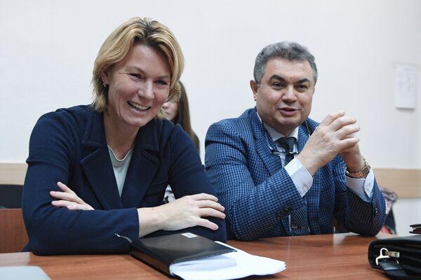 Заседание суда по делу Юлии Аникеевой