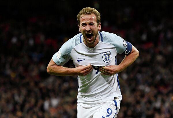 Нападающий сборной Англии Харри Кейн