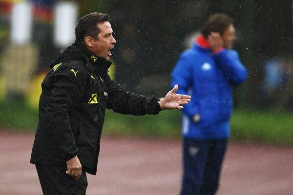 Старший тренер молодежной сборной Австрии Вернер Грегорич