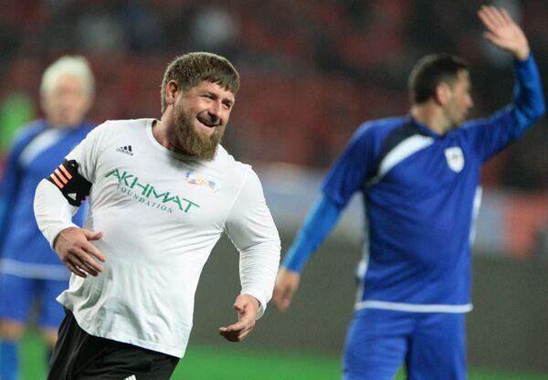 Капитан команды Лидер-65 Рамзан Кадыров