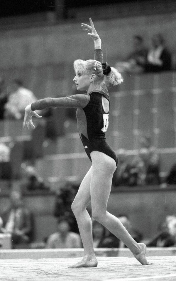 Татьяна Гуцу. Архивный кадр