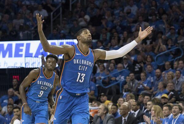 Баскетболист Оклахомы-Сити Тандер Пол Джордж