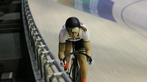 Серебряный призер Олимпийских игр-2016 в велоспорте на треке россиянка Дарья Шмелева