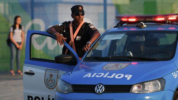Бразильский полицейский