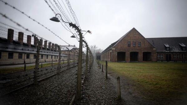 Концентрационный лагерь Аушвиц-Биркенау в Освенциме, на территории которого в 1947 году был создан музей