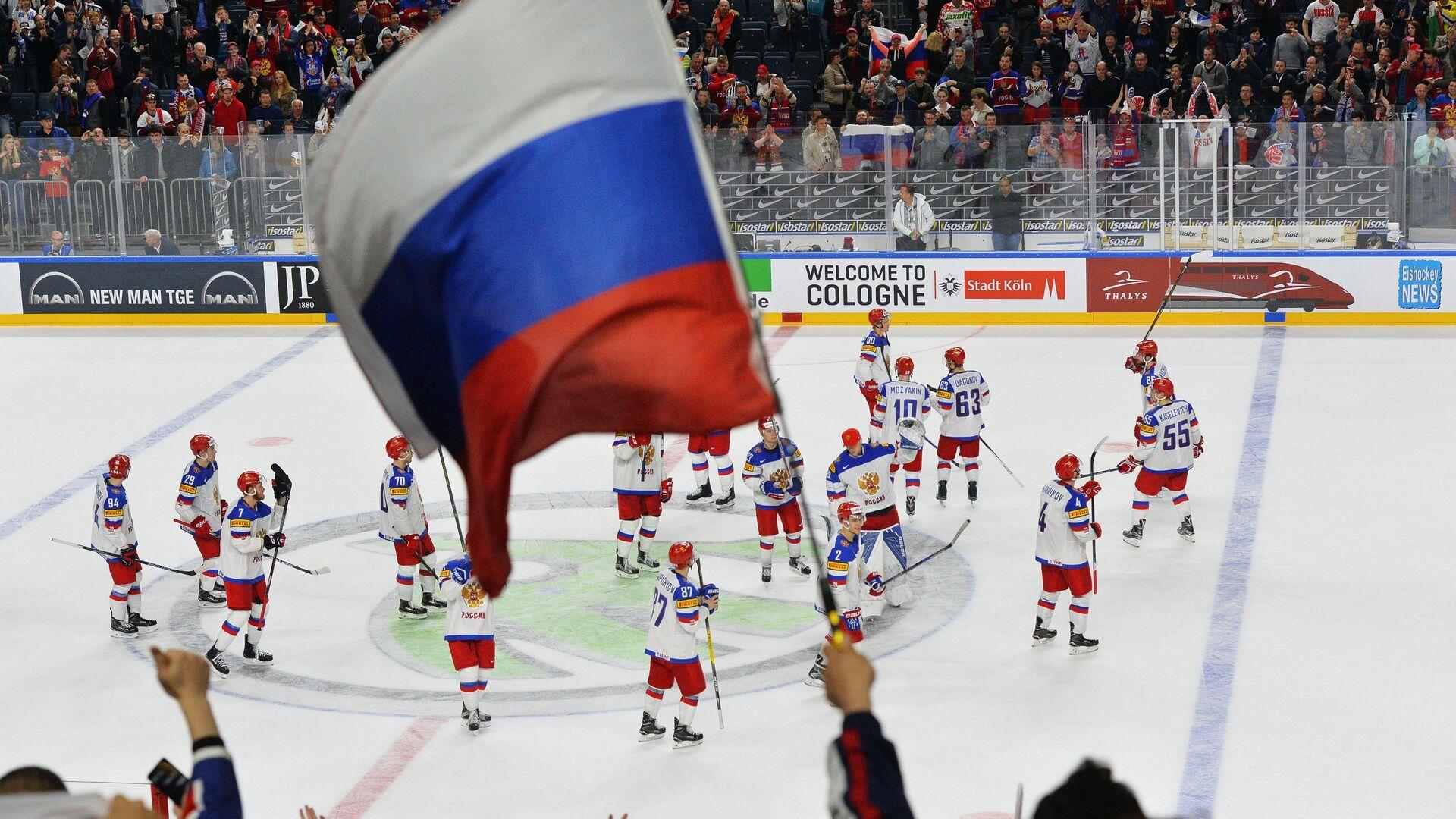 Хоккеисты сборной России - РИА Новости, 1920, 13.04.2021