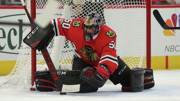 """Вратарь клуба НХЛ """"Чикаго"""" сообщил, что переболел коронавирусом"""