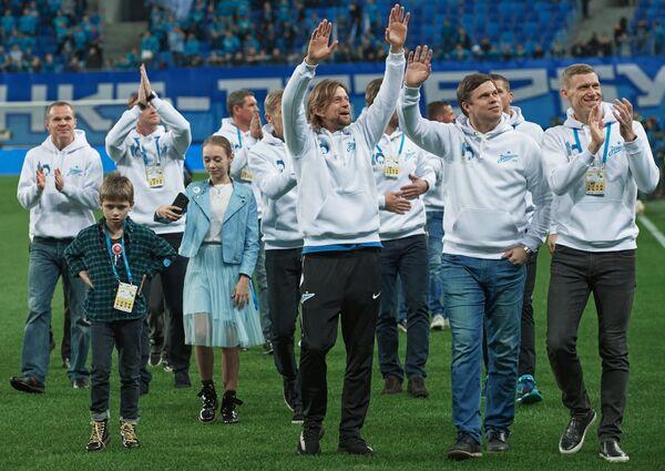 Футболисты ФК Зенит, выигравшие чемпионат России по футболу сезона 2007 года