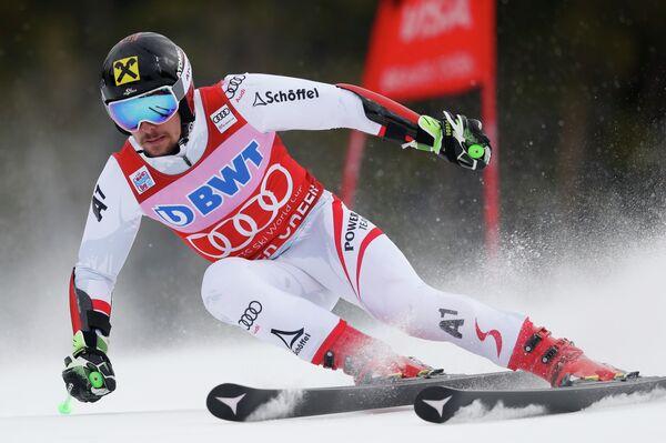 Австрийский горнолыжник Марсель Хиршер