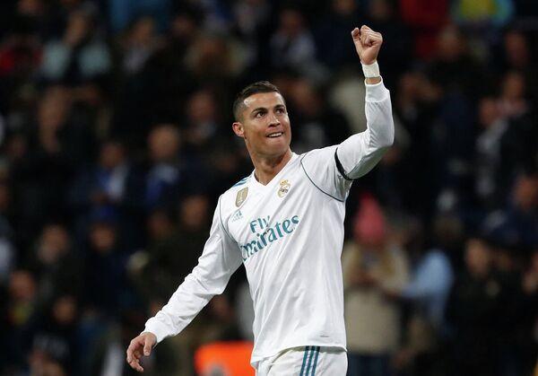 Нападающий мадридского Реала Криштиану Роналду