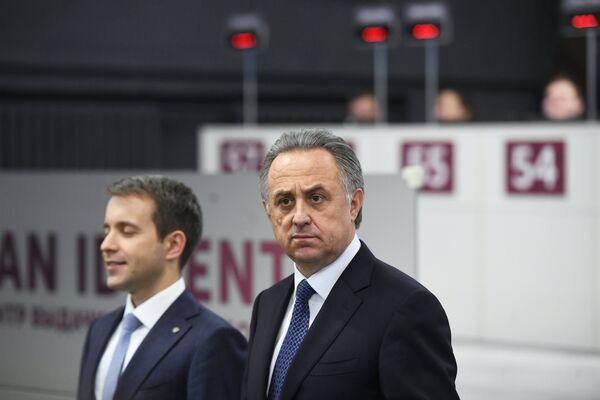 Виталий Мутко (справа) и Николай Никифоров
