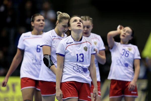 Гандболистка сборной России Анна Вяхирева