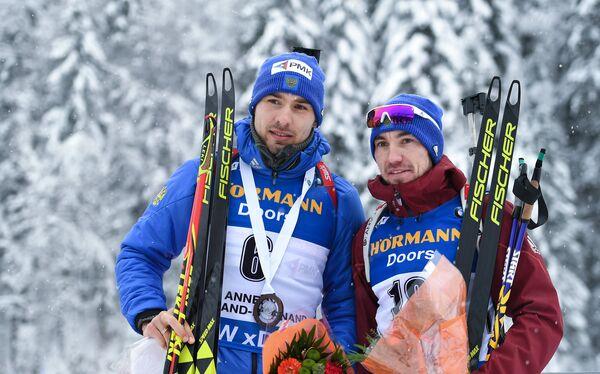 Антон Шипулин (слева) и Александр Логинов