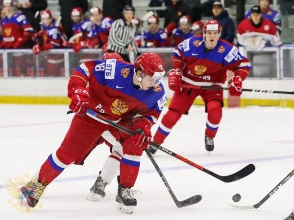 Нападающий молодежной сборной России по хоккею Данил Веряев