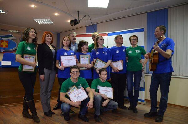 Участники реалити-шоу Готов к труду и обороне в Коми