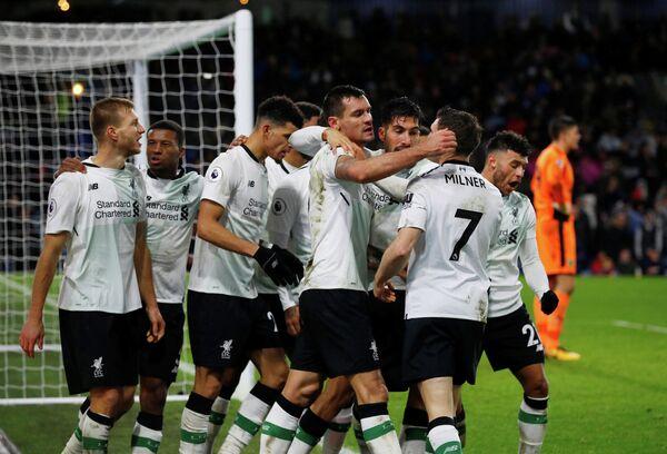 Футболисты английского Ливерпуля