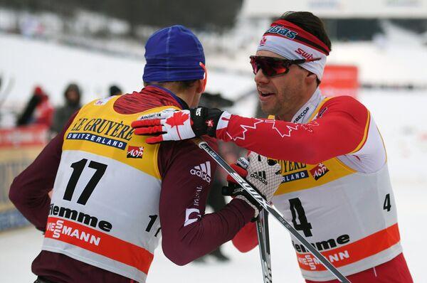 Дарио Колонья (слева) и Алекс Харви
