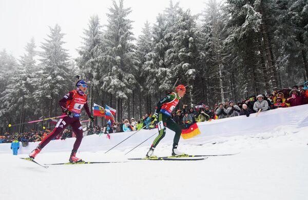 Дарья Виролайнен и Дениз Херрман (слева направо)